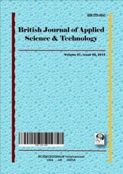 British Journal of Applied Science & Technology