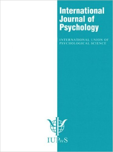 International Journal of Psychology
